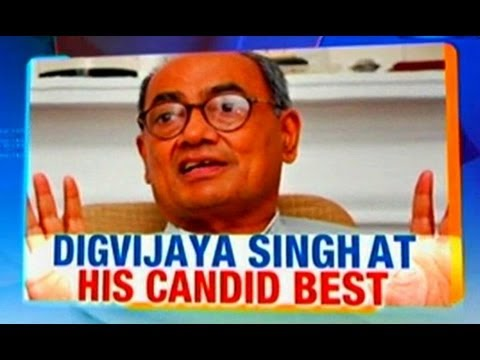 Digvijaya Singh at his candid best