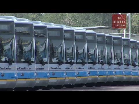 В Алматы 24 новых автобуса стали  курсировать по 85-му маршруту (01.11.16)