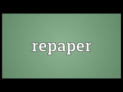 Header of repaper