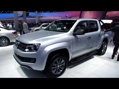 2014 Volkswagen Amarok Dark Label TDI - Exterior and Interior Walkaround - 2013 Frankfurt Motor Show