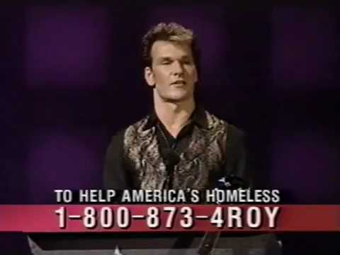 Roy Orbison Tribute 1990 - Patrick Swayze, Bob Dylan, John Fogerty