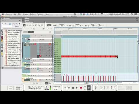 Propellerhead Reason 8 - Midi Workflow Tutorial
