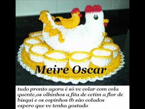 Passa a passo da galinha porta ovos com Meire Oscar Music Videos