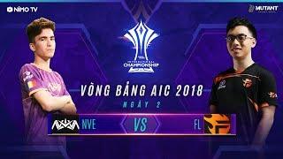 TEAM FLASH vs NOVA EUROPE - AIC 2018 - Ngày 2 Vòng Bảng