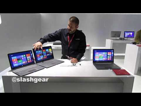Vizio Thin + Light Windows 8 Notebook hands-on