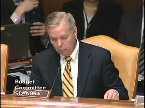 Graham Questions OMB Director About Obama's FY 2016 Budget Proposal