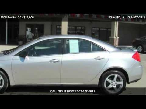 2008 Pontiac G6 SPORT 4DR - for sale in MANCHESTER, IA 52057