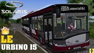 OMSI 2 [60 FPS] - SOLARIS URBINO 15 LE in Lemmental - Let's Play Omsi 2 [#533]