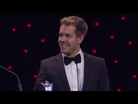 Sebastian Vettel - International Racing Driver of the Year - AUTOSPORT Awards 2013
