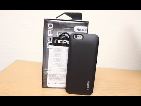 watch Incipio Offgrid Express Battery Case For The Iphone 6 Unboxing And video