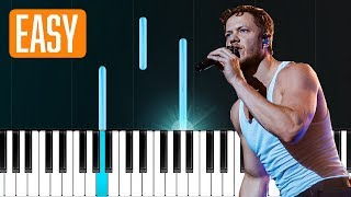 "Download Lagu Imagine Dragons - ""Natural"" 100% EASY PIANO TUTORIAL Gratis STAFABAND"