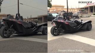 High Performance Exhaust System for Polaris Slingshot by Bassani Xhaust