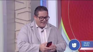 Hispanic Tech Speaker and Expert Ariel Coro visited Despierta America to Talk about Health Apps
