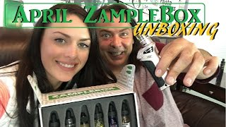 Opening My April Zamplebox with Danielle! | IndoorSmokers