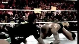 Randy Orton destroys Nexus of CM Punk