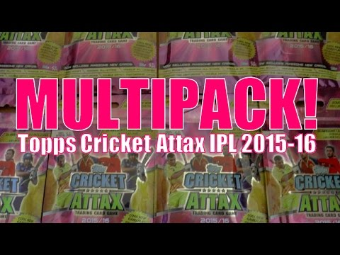 MAXWELL 2014 MVP! ☆ MULTIPACK ☆ Topps CRICKET ATTAX Indian Premier League 2015-16 Trading Cards