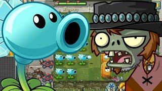 ✔️ICE PEA VS PONCHO ZOMBIE | Plants Vs Zombies 2 | Hoa Quả Nổi Giận 2