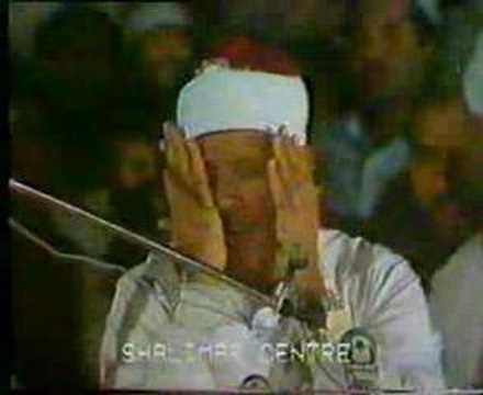 Qari Abdul Basit (surah Haqqah Clip) video