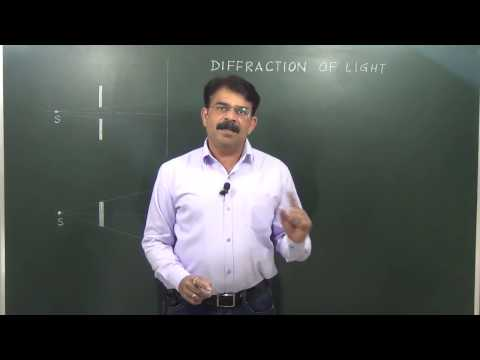 CLASS XII_wave optics -14 - Diffraction of light