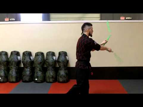 Nunchaku Tricks video