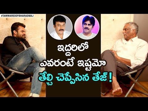 Sai Dharam Tej About Chiranjeevi & Pawan Kalyan | Jawaan Movie | Tammareddy FACE to FACE Interview