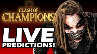 Will We See The Fiend Bray Wyatt? | WWE Clash of Champions 2019 LIVE Match Card Predictions