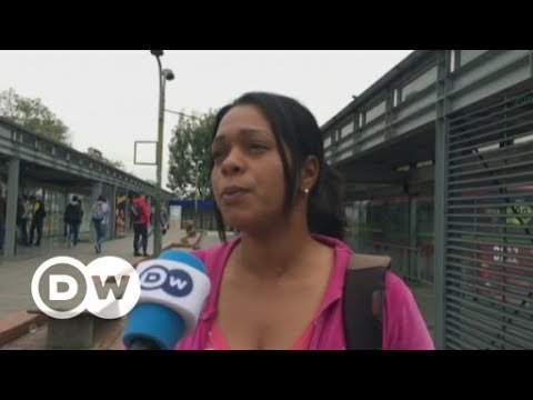 Colombia worried over massive influx of Venezuelans | DW English