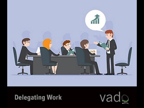 delegation management and work Delegation in management whilst the stages you work through to decide whether or not it is appropriate to delegate a task, and to whom, are important.