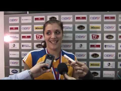 Videoreportáž - ženské finále slovenského pohára Doprastav Bratislava - Slávia EU Bratislava