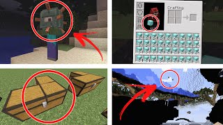 5 BUGS INCRÍVEIS DO MINECRAFT !!!