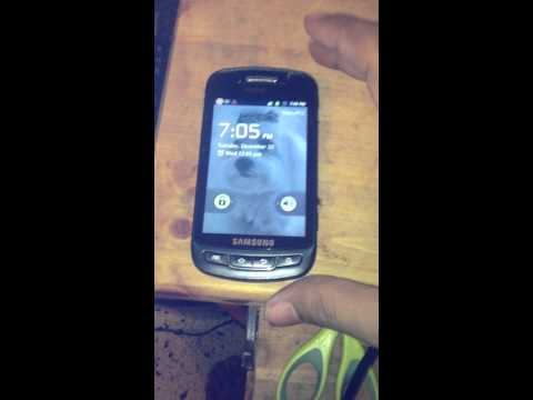 How to Hard Reset A Samsung Admire SCH-R720 MetroPCS Android Cellphone