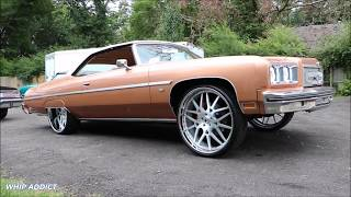 """WhipAddict: """"Amber Rose"""" 75' Caprice Vert on Forgiato Maglia 26s & Supercharged LSX by 815 Motoring"""