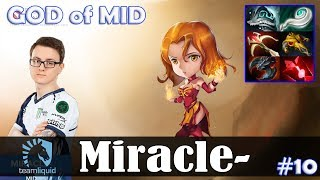 Miracle - Lina GOD of MID | 7.19 Update Patch | Dota 2 Pro MMR Gameplay #10