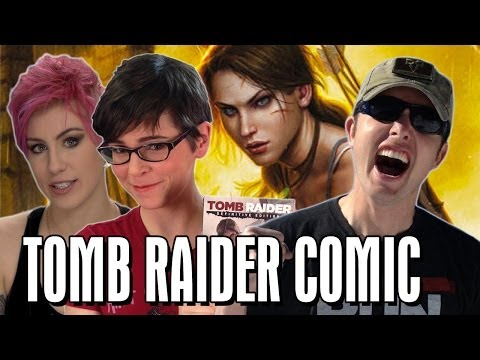 Tomb Raider, ComicBookGirl19 & Richard Ryan! | Talkin' Comics Weekly