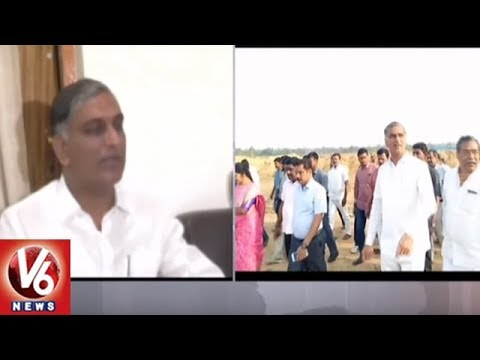 CM KCR To Lay Foundation Stone For Collector And SP Office In Medak | V6 News