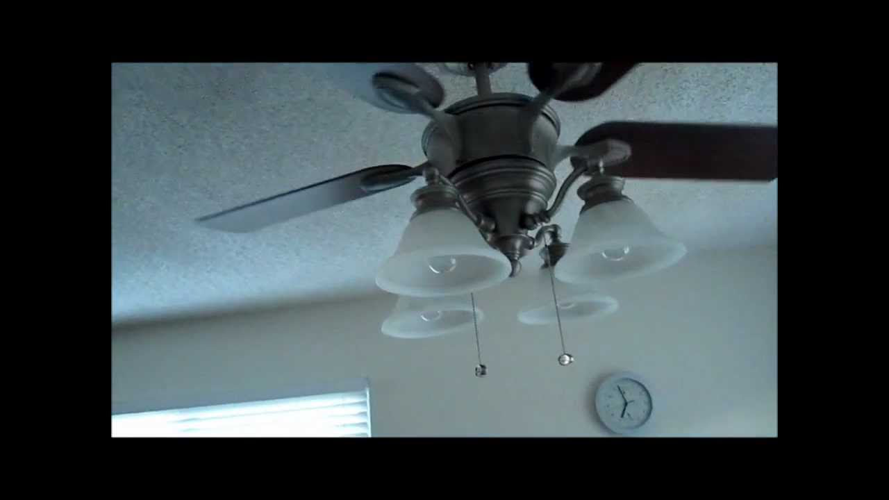 Beautiful Harbor Breeze Lights And Ceilng Fan Kit Youtube