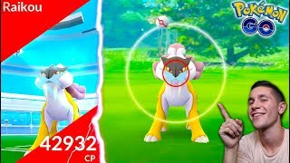 WORLD'S FIRST RAIKOU RAID IN POKÉMON GO! *NEW LEGENDARY*