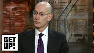 NBA Commissioner Adam Silver is 'worried' tanking will continue | Get Up! | ESPN