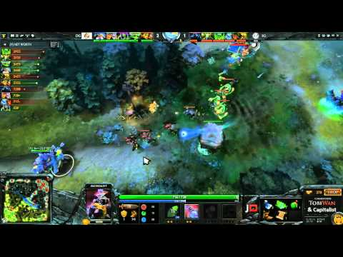 Invictus Gaming vs DG Game 2 - Sina Cup - @TobiwanDota & @DotACapitalist