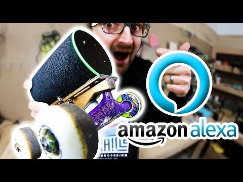 AMAZON ALEXA SKATEBOARD | SKATE EVERYTHING EP 89
