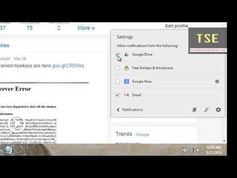 Chrome Notifications Bell icon on Windows Taskbar (Gmail /Google Drive /Google Now)