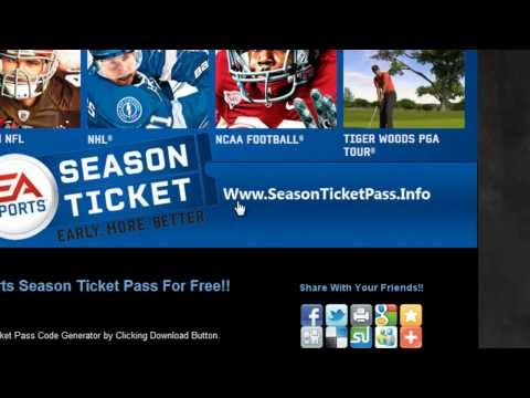 How to Download EA Sports Season Ticket Pass Free on Xbox 360 And PS3!