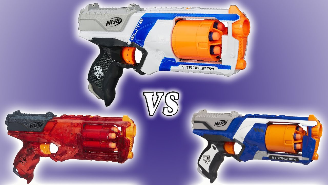 Nerf Strongarm xd Mod Nerf Strongarm Elite xd