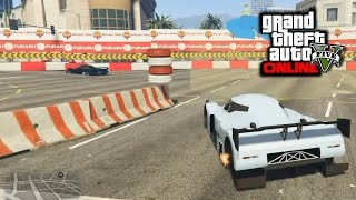 GTA 5 - Stunt Race Creator Testing (New Era Race Tracks)