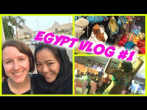 Mysterious Egypt Vlog #1 - Belly Dance Festival & My Journey to Giza