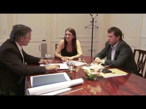 Cecilia Rodríguez recibió al ministro de Gobierno de San Juan