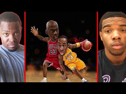 MICHAEL JORDAN VS KOBE BRYANT! - NBA LIVE 2003 | #ThrowbackThursday ft. Juice
