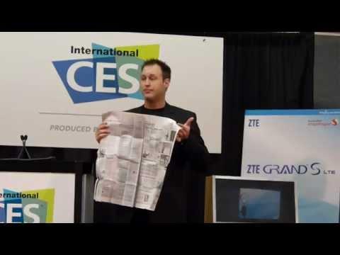 ZTE press conference illusion trick with Jason Michaels part