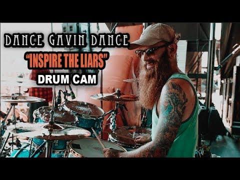 Dance Gavin Dance | Inspire The Liars | Drum Cam (LIVE) thumbnail