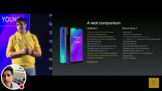 Live Launching of New phone Realme 3